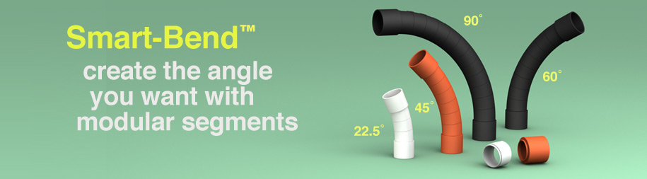 HFT / LSZH-FR Electrical conduit smart bends
