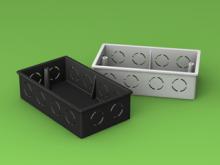 Double Switch Box LSZH HFT