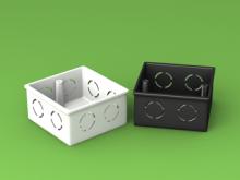 Single Switch Box LSZH HFT